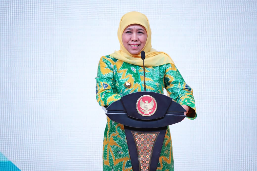 Khofifah Resmikan OPOP Training Center, 30 Pesantren Siap Jadi Pilot Project Program OPOP
